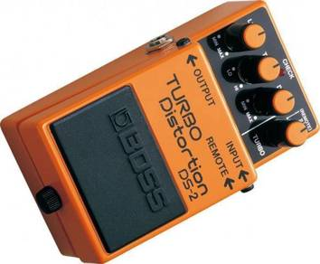 Boss DS2 Turbo Distortion Guitar Distrotion Pedal