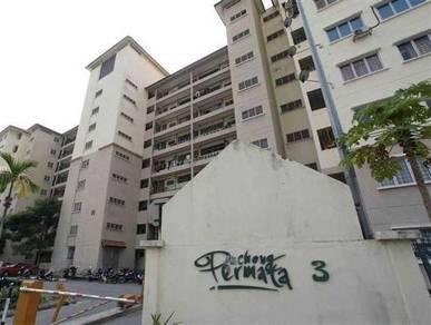 Puchong Permata 3 Apartment Puchong Permai 850sqft Renovated Semi/Fur