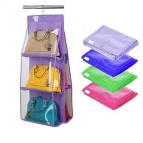 Rak Gantung Beg Tangan Handbag Premium PVC