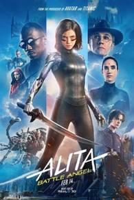 Poster MOVIE Alita: Battle Angel (2019) AA 3