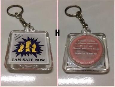 Keychain from Thailand - H