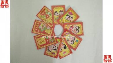 Wedding Red Packet Ang Pao 18 Packs(6pcs/Pack)