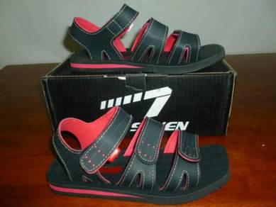 Sandal Line 7 Black and Red size 6