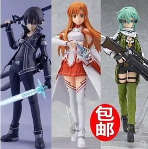 Sword art online action figure sao asuna sinon