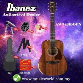 Ibanez artwood aw54jr-opn open pore natural solid