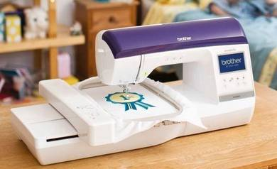 Mesin Jahit Sulam Brother Nv800E Home Use Sew Tech