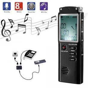 8 Hour Professional 8GB Digital Voice Recorder