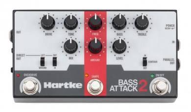Hartke Bass Attack 2 Preamp/Direct/EQ Pedal
