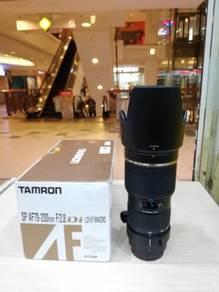 Tamron sp af 70-200mm f2.8 di macro lens-canon