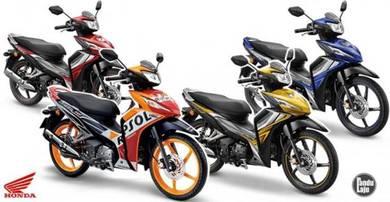 2021 Honda Dash 125 Fi Loan Kedai