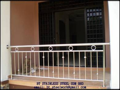 Simple Stainless steel beranda