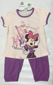 Disney Baby Minnie Mouse Dark Purple Top & Pants