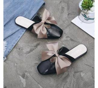 8057 Slip On Ribbon Style Flat Shoes