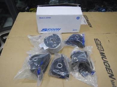 Spoon engine transmission mount set dc2 eg6 type r