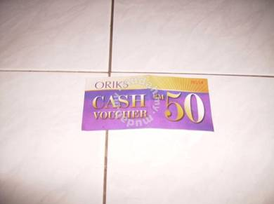 ORIKS RM50 Cash Voucher