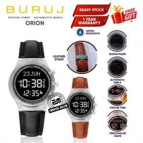Buruj Orion Jam Tangan Azan Waktu Solat dan Kiblat