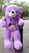 Tedddybear purple