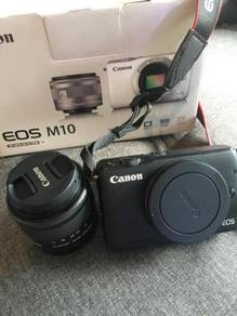Canon M10 for swap