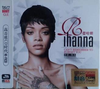 IMPORTED CD Rihanna Can't Remember To Forget You