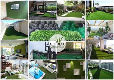 Artificial Grass / Premium Rumput Tiruan C-Shape 1