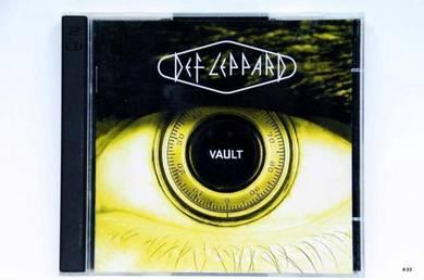 Original CD - DEF LEPPARD Vault Limited Ed [1995]