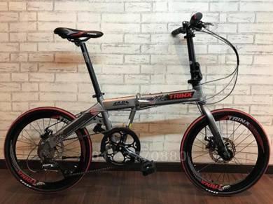 2018 Trinx WARWOLF 16 SPEED folding bike BICYCLE