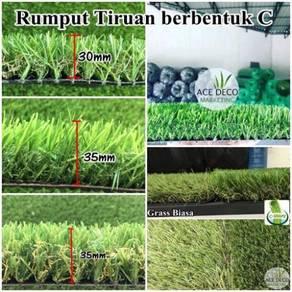 Artificial Grass / Rumput Tiruan Serat C-Shape 07