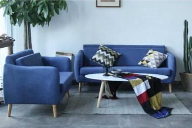 Kansas Series 3 Seater Fabric Sofa