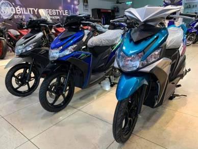 Yamaha Ego Solariz 125 Scooter Baru