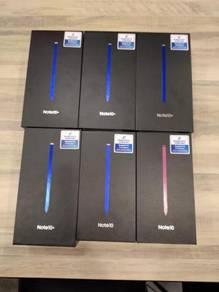 New Samsung Note 10 Plus 512GB. Jual 13OORM jer