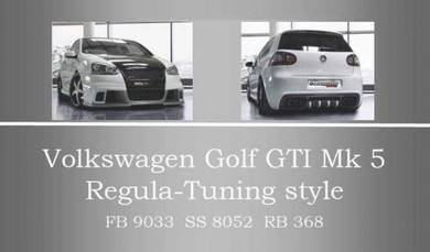 Volkswagen golf mk5 regula bodykit body kit bumper