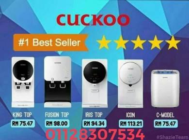 CUCKOO Water Filter Penapis Air Duyong Melaka