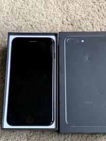 Apple iPhone 7 Plus 128GB Myset Fullset JetBlack