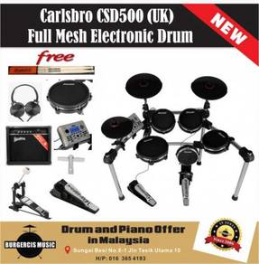 Carlsbro CSD500 (UK) Electronic Drum-Practice Amp