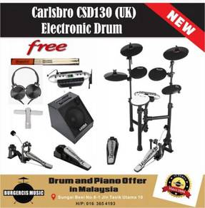 Carlsbro CSD130 (UK) Electronic Drum-80W Drum Amp