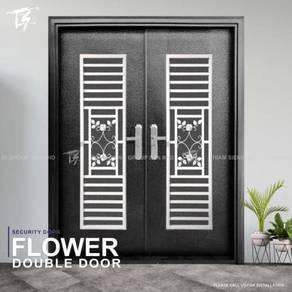 Flower Double Security Door Zone 3