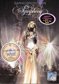 DVD SARAH BRIGHTMAN Symphony Live In Vienna