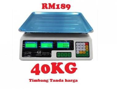 Dacing timbang durian pasar digital scale 30kg kg