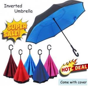 Payung Hujan Terbalik Inverted Umbrella