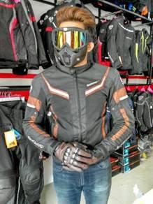 IZ2 437 Wasp Waterproof Riding Jacket (coklat)