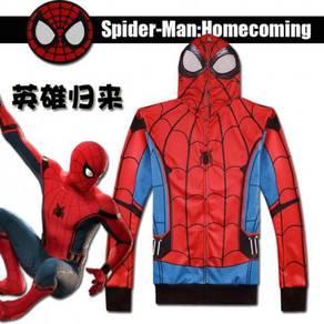 Spiderman red hoodie jacket sweater RBHB029