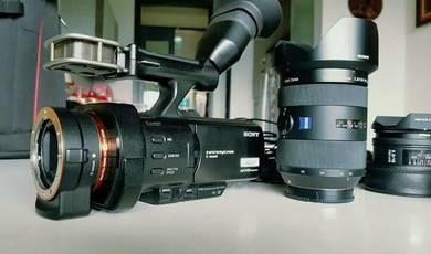 SONY NEX-VG900 HandyCam camcorder