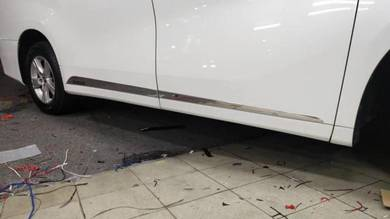Toyota vellfire alphard 2016 door moulding chrome