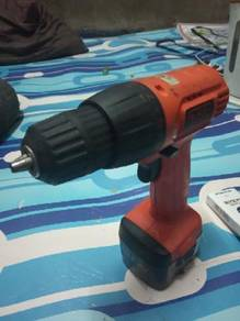Black+Decker Cordless Drill 9.6v