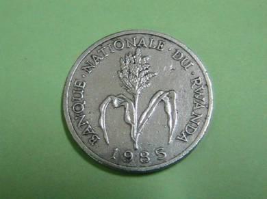 1985 Rwanda Franc