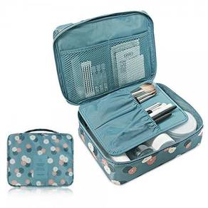 Multi-Pouch Cosmetic Makeup Toiletry Bag Travel