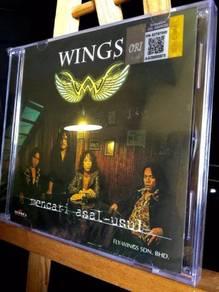 CD WINGS Mencari Asal Usul 1 CD Vokal MUS