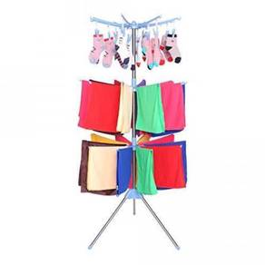 [Penyidai Baju] 3 Layer Clothes Hanger Stand
