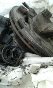 Disc brakes L2 double layer utk kancil