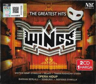 CD WINGS The Greatest Hits 2CD